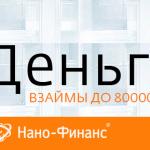 Нано финанс банк  — онлайн заявка на получение денег