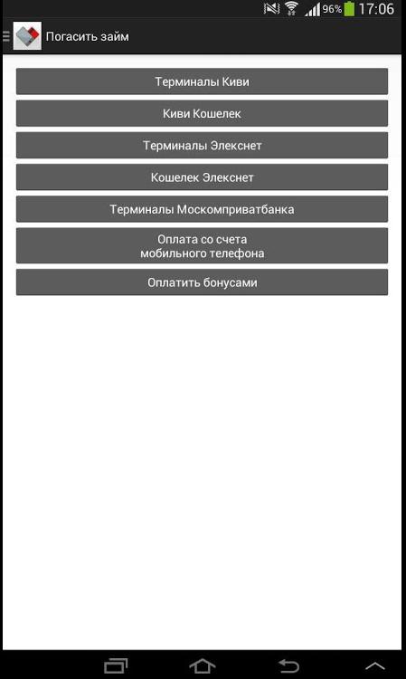 Список мфо где взять срочный микрозайм без переадресации к партнерам
