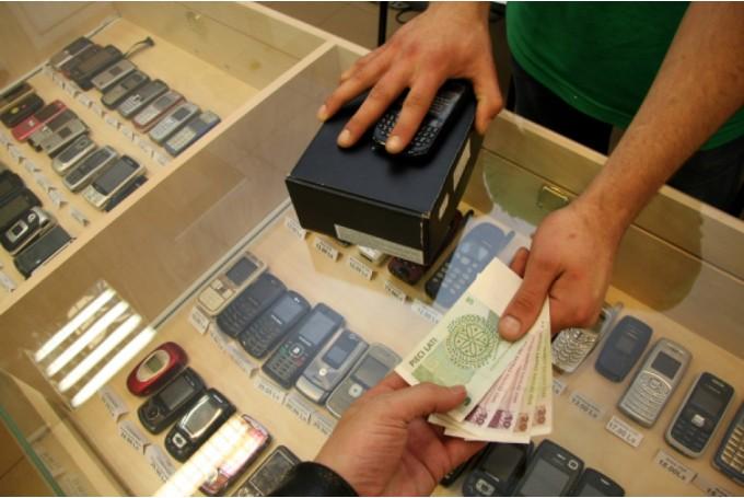 Передача мобильного в залог ломбарду и получение денег