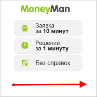 Займ на карту и Яндекс Деньги от Moneyman